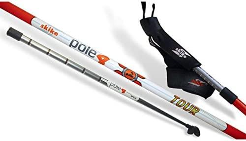 Skike pole4/one4 Tour Traveller 3teiliger Stock 100% carbono, 145 ...