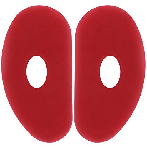 Costilla suave para arcilla de cerámica paquete de 2
