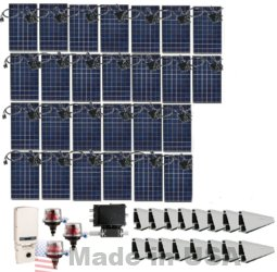 Grid-tie 7.8kw Solar Power System With Solaredge Inverter