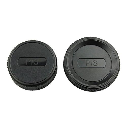 (JJC L-R4 Body Cap and Rear Lens Cap for Pentax K Mount Lens/Camera)