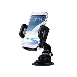 TaoTronics 車載ホルダー 携帯ホルダー 360度回転可能 吸盤式