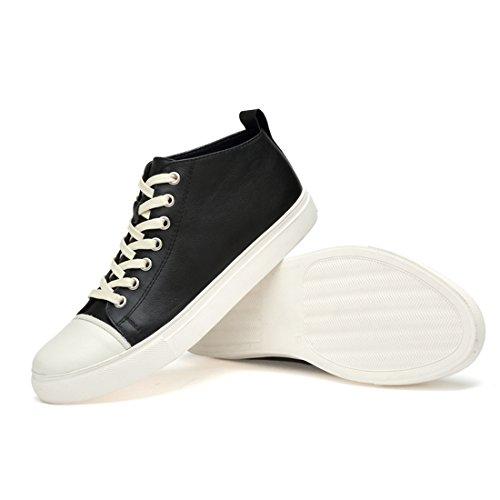 LHEU Bianco LH2080 Minitoo Uomo 40 Black White Sneaker AdBaRwq