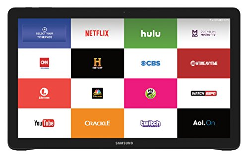 "Price comparison product image Samsung IT SM-T670NZKAXAR Samsung Galaxy View 32GB Android 18.4"" Wi-Fi Tablet Computer (Black)"
