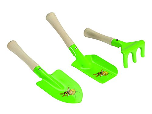 Perel Handwerkzeuge Set 3-teilig 20 x 3 x 28 cm ST200120 gr/ün die Biene Maja