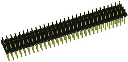 Header 4 Rows, 2 mm MTMM-136-06-G-Q-185 144 Contacts Through Hole Pack of 2 Board-To-Board Connector MTMM Series