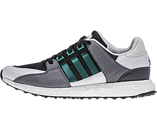 Adidas Hombres EquipHombrest Support 93/16 Tela Gris / Blanca / Verde-negra