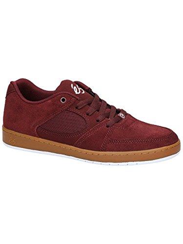 Es Brown Borgogna Accel gomma Slim gum Shoes rqErXxwSC