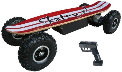 Skatey-800-B-RW-Vlo-et-Vhicule-pour-Enfant-Rouge-Blanc