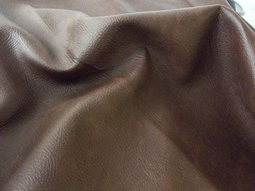 10Mtr - 1000cm x 140cm matt FR PVC Leder Tuch Vinyl Möbelbezugsstoff Material - braun - Braun, 10Mtr - 1000cm x 140cm