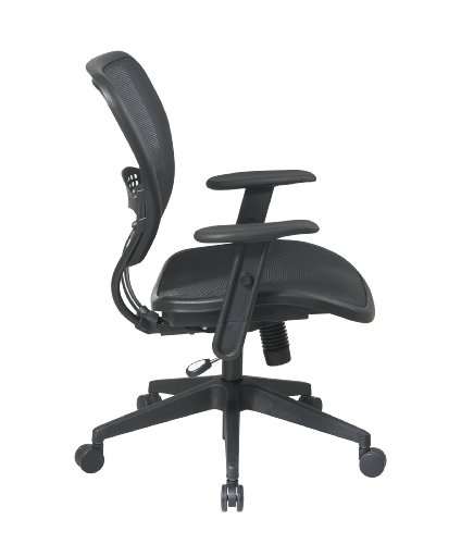 Ordinaire Amazon.com: In This Space Space 5560 Space Air Grid Deluxe Task Chair,  20 1/2w X 19 1/2d X 42h, Black: Kitchen U0026 Dining