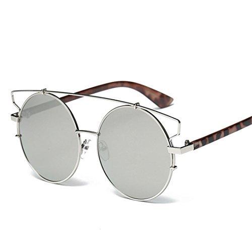 F Unisex Hombres Aviator de Retro lente Winwintom Espejo Mujeres Vintage gafas sol gafas Color Moda g7AUS6xwSq
