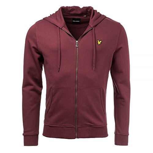Cappuccio Through amp; Zip Uomo Jug Lyle Claret Scott wIgSqxT6