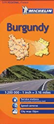 Michelin Map France: Burgundy 519 (Maps/Regional (Michelin))