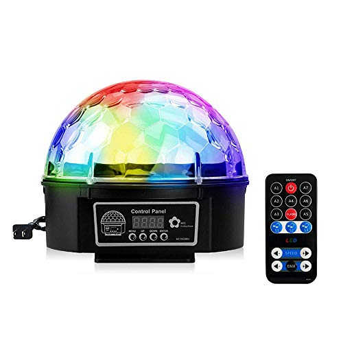Crystal Magic Ball Led Light in US - 6