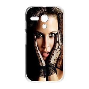 Motorola G Cell Phone Case White Josie Maran GY9023840