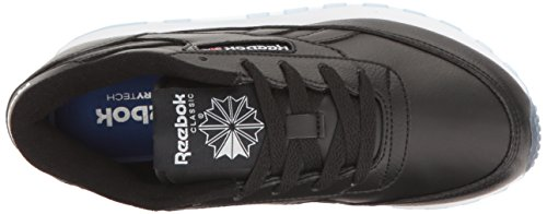 Reebok Womens Classic Renaissance Ice Fashion Sneaker Black / White / A Ice