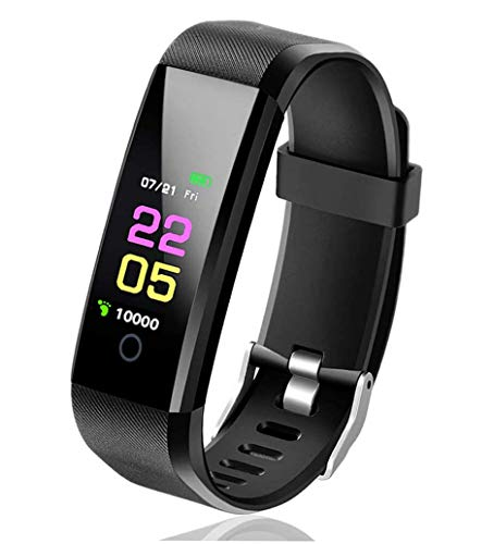VALAM Fitnesstracker, activiteitstracker, smartwatch, stappenteller, cardio, smart sporthorloge, Android iOS…
