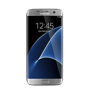 Samsung Galaxy S7 Edge unlocked smartphone, 32 GB Silver (US Warranty - Model SM-G935UZSAXAA) (Certified Refurbished)