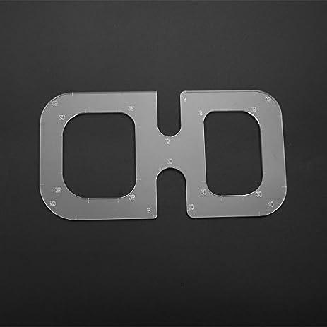 Amazon.com: Raza New Quilting Quilt Acrylic Templates DIY Tools ... : quilting measuring tools - Adamdwight.com