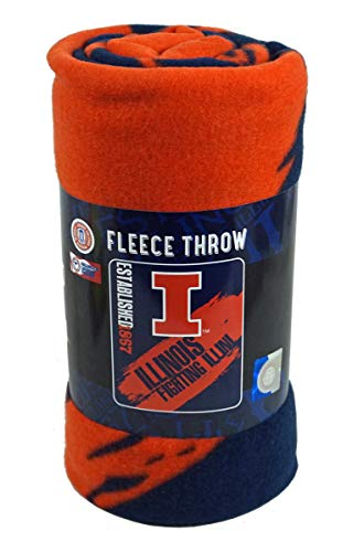 - The Northwest Company University of Illinois Established in 1867 Fleece Blanket Throw