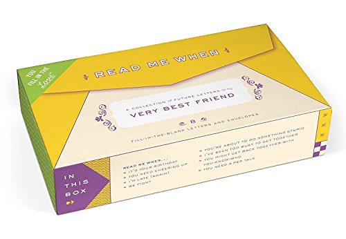 Knock Knock Letters to My Very Best Friend Read Me When Box (50172) (Pep Go Memory compare prices)