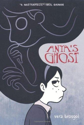 """""""Anya's Ghost"""" av Vera Brosgol"""