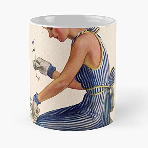 Fashion Mccalls Vintage Gardening Mugs Best Gift ()