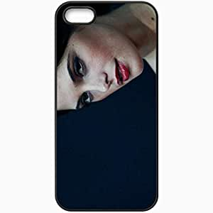 Personalized iPhone 5 5S Cell phone Case/Cover Skin Ashley Greene Black