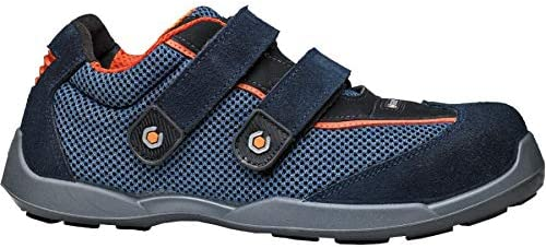 Base B620N-S1P-T45 Calzado de seguridad, Azul y naranja, 45: Amazon.es: Bricolaje y herramientas