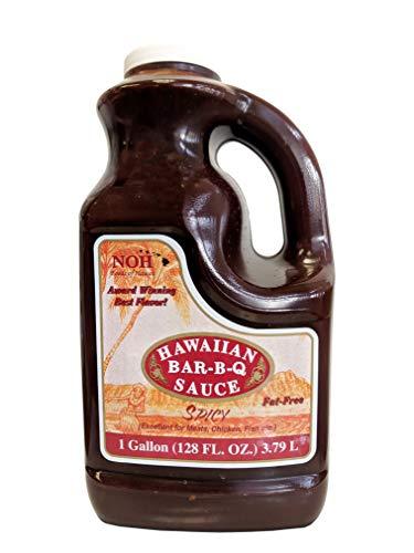 - NOH Foods of Hawaii Spicy Hawaiian Bar-B-Q Sauce, 128 Ounce