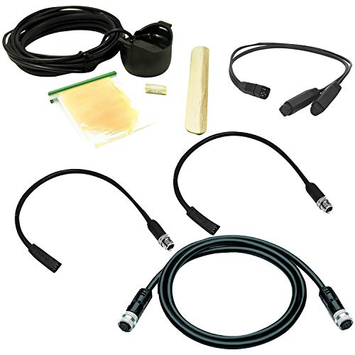 Dual Cable Kit - Humminbird 700059-1 700059-1 Dual Helix Starter Kit with Ethernet Cable
