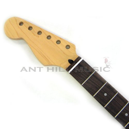 Mighty Mite Electric Guitar Neck - Lefty Strat Neck Maple Rosewood - Fender LIC