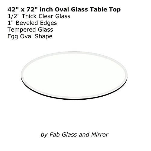 Fab Glass and Mirror E Oval (Egg) 1/2
