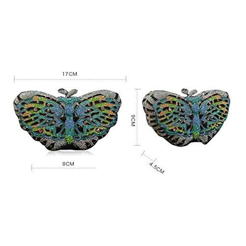 Main De Sac Mode à Femme De La Onecolor Soirée Sac Papillon De aCFq8