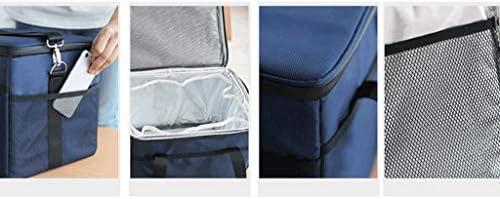 Zyj Grand Sac d'isolation de Sac à bento épais en Aluminium avec Sac de boîte à Lunch Portable (Taille : XS)