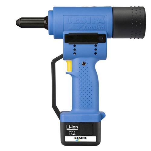 7250061 GESIPA TOOL PARTS GESIPA ACCUBIRD CORDLESS RIVET TOOL KIT 14.4V W/BATTERY, by Gesipa