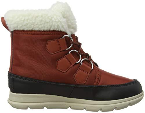 Women's Rusty Explorer Boots Black Carnival Sorel Pqaxgwdng