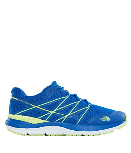 The North Face M Ultra Cardiac II, Scarpe da Fitness Uomo Multicolore (Turkish Sea/Dayglo Yellow 4dn)