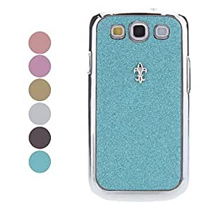 DUR Shining Rhinestone Hard Case for Samsung Galaxy S3 I9300 (Assorted Color) , Black