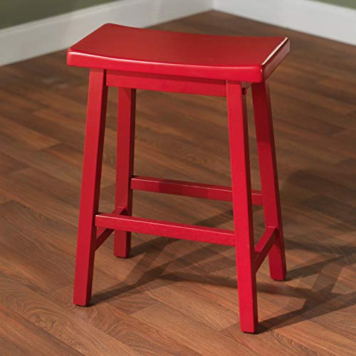 OKSLO 24 in. arizona saddle counter stool