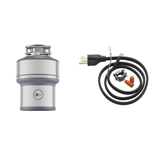 InSinkErator Evolution Excel 1.0 HP Household Disposer and CRD-00 Power Cord Kit
