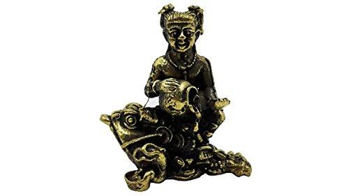 [Tiny guman kuman gumantong boy ride frog lucky and rich life protection with holy cloth] (Princess Tiny Feet Costume)