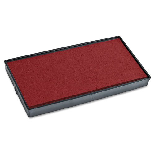 2000 PLUS 2000 PLUS Replacement Ink Pad for Printer P40 & Dual Pad Printer P40, Red