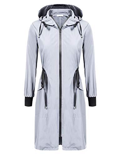 ELESOL Rain Jacket Women