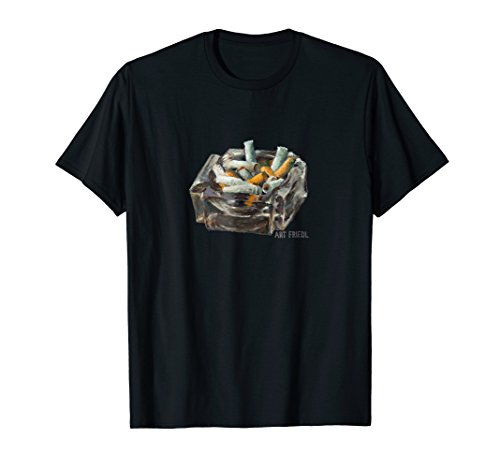 Ashtray Cigarette Butts t-shirt