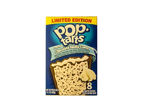 (Kellogg's Pop-Tarts Pop Tarts Chocolate Vanilla Creme - 14.1 oz)