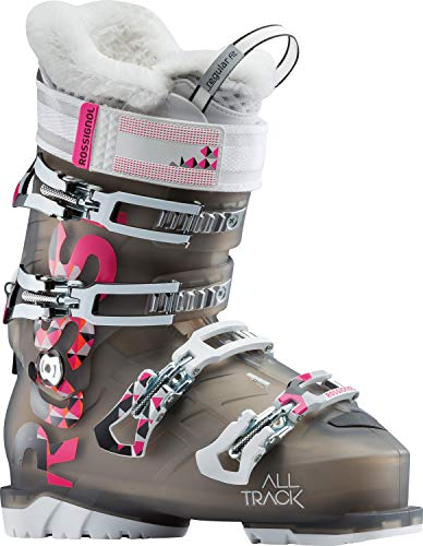 Rossignol Alltrack 70 Ski Boots Womens Light Black Sz 9.5 (26.5)