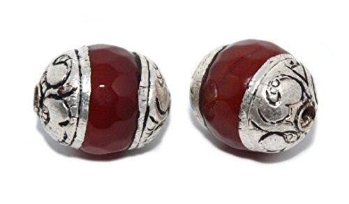 (Handmade Beads Tibetan Beads Quartz Beads Silver Beads Gypsy Beads B268)