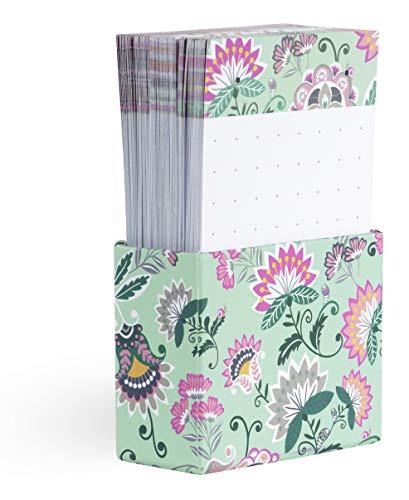 Vera Bradley Tab Notes with 90 Dot Grid Sheets, 3