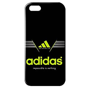 DIY Style Adidas A Logo Phone Case Cover for Iphone 5/5S 3D Hard cover Case_Black